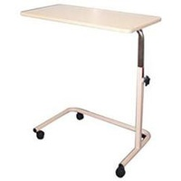 Overbed and Chair U-Base Table (38.5cm x 79cm top)
